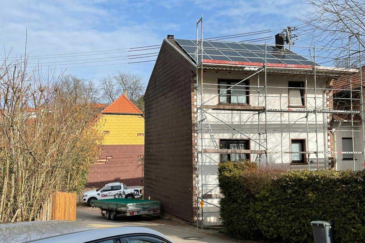 Photovoltaikanlage Dachflächennutzung