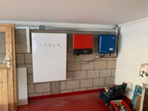 Solar Energie Speicher Tesla